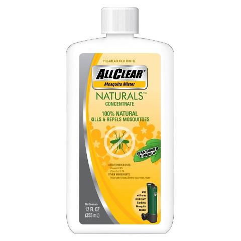3-Pack AllClear Mosquito Mister Concentrate Naturals