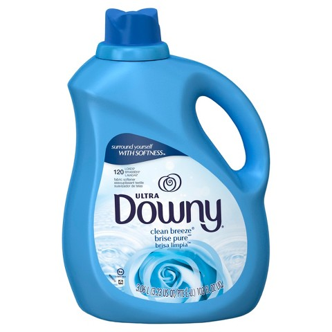 Downy Clean Breeze Scent Liquid Fabric Softener 103 oz
