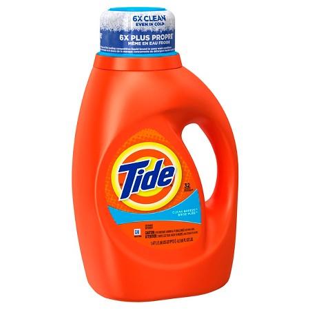 tide detergent target market