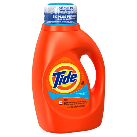 Tide® Clean Breeze® Liquid Laundry Detergent - 50 oz