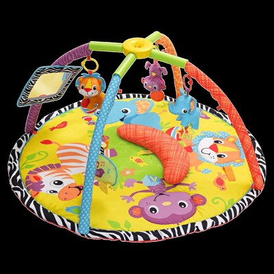 Infantino Twist and Fold Gym with Tummy Time - Baby Animal