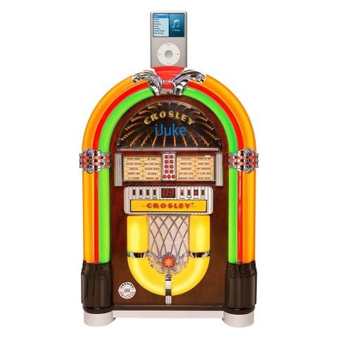 Crosley iJuke Premier (CR1702A-CH) Jukebox- Cherry