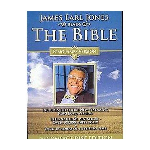 James Earl Jones Reads The Bible (Unabridged) (Compact Disc)
