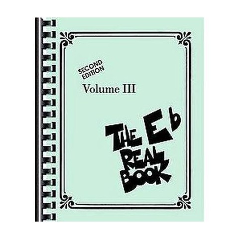The Eb Real Book (3) (Paperback)