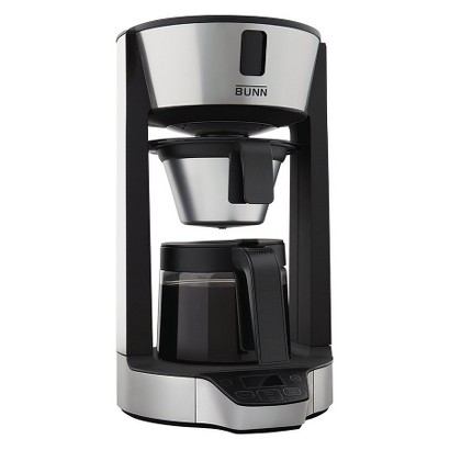 Bunn PhaseBrew Coffee Brewer - Black (8 Cup)