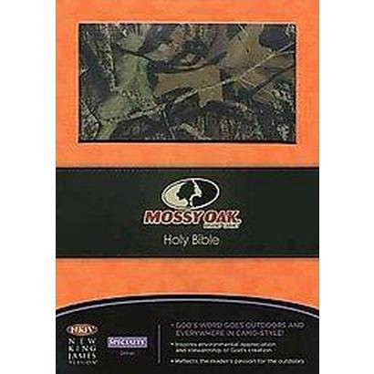 Mossy Oak Personal Size Giant Print Bible (Paperback)