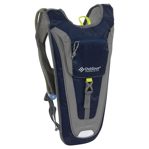 Outdoor Products Kilometer Hydration Pack - Blue/Gray