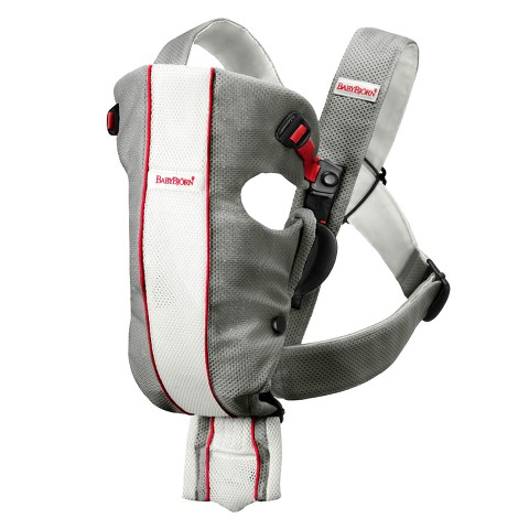 BABYBJÖRN Original Baby Carrier - Gray/White, Mesh