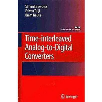 Time-Interleaved Analog-to-Digital Converters (Hardcover)