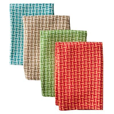 Coastal Shades Dish Cloth Set of 4 - Assorted