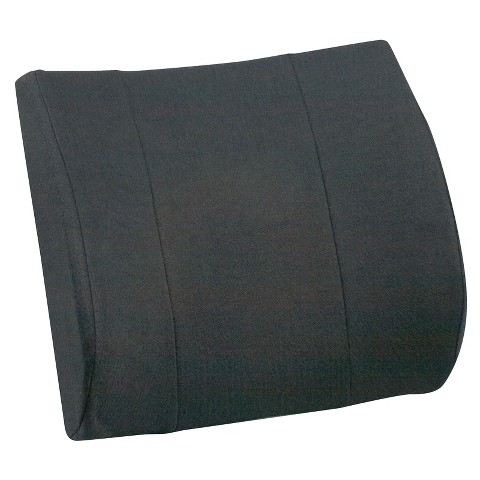 Mabis Healthcare Lumbar Cushion - Black