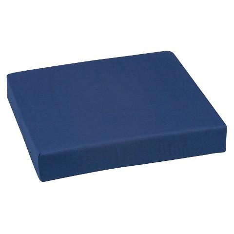 Mabis Healthcare Wheelchair Cushion - Navy Blue