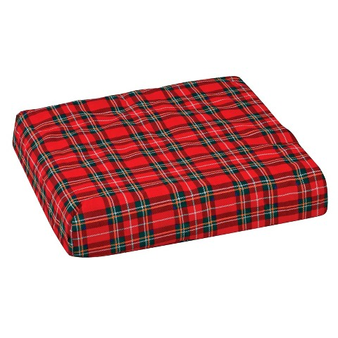 Mabis Healthcare Convoluted Foam Chair Pad - Plaid