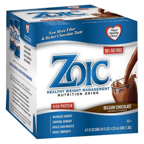Zoic Healthy Weight Management Nutritional Drink - Belgian Chocolate