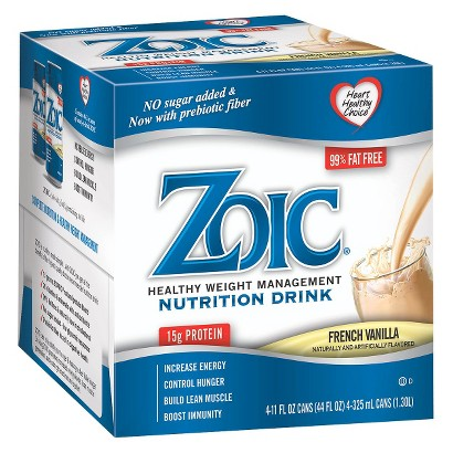 Zoic Healthy Weight Management Nutritional Drink - French Vanilla