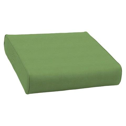 Smith & Hawken® Premium Quality Avignon® Ottoman Cushion - Green