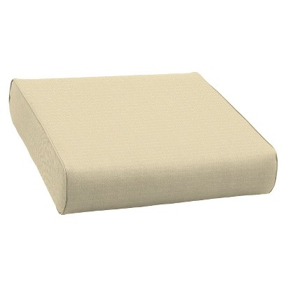 Smith & Hawken® Premium Quality Avignon® Ottoman Cushion - Cream