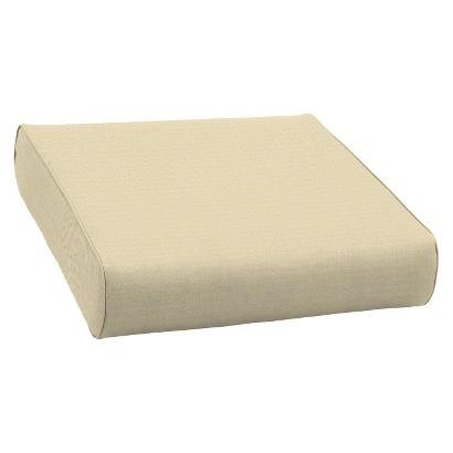 Smith & Hawken® Premium Quality Avignon® Ottoman Cushion - Cream
