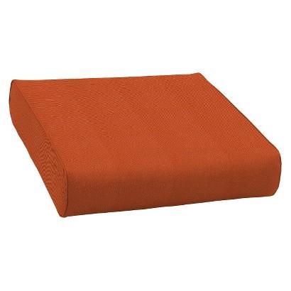 Smith & Hawken® Premium Quality Avignon® Ottoman Cushion - Rust