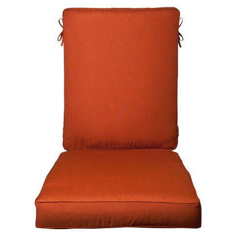 Smith & Hawken® Premium Quality Avignon® Chaise Cushion - Rust