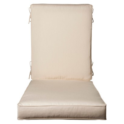 Smith & Hawken® Premium Quality Avignon® Chaise Cushion - Cream