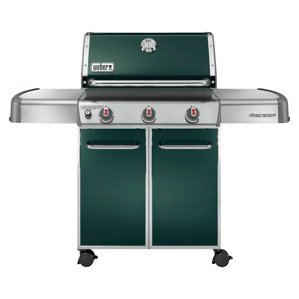 upc 077924006166 weber 6517001 genesis e 310 60 inch green freestanding lp gas grill. Black Bedroom Furniture Sets. Home Design Ideas