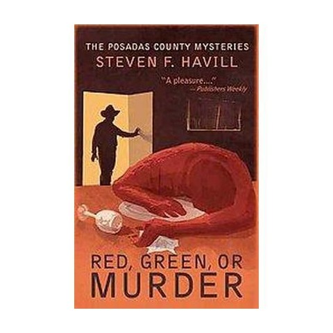 Red, Green, or Murder (Reprint) (Paperback)