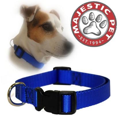 Majestic Pet Adjustable Collar - Blue (Large)
