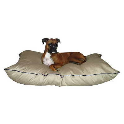 "Majestic Super Value Pet Bed - Khaki (Large - 35x46"")"