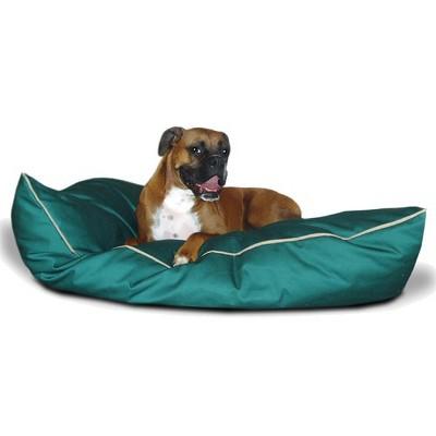 Majestic Super Value Pet Bed - Green (Medium - 28x35 )