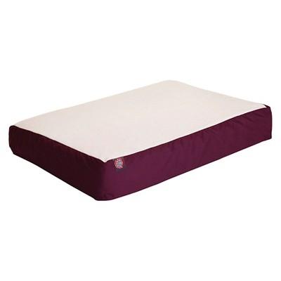 Majestic Pet Orthopedic Bed - Burgundy (Large/Xlarge)