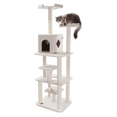 Pet Tower Majestic pet Wood White