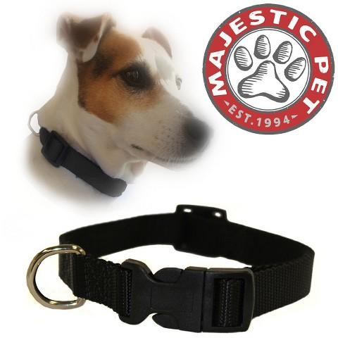 Majestic Pet Adjustable Collar - Black
