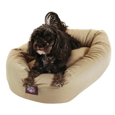 Majestic Pet Bagel Bed - Khaki (Small)