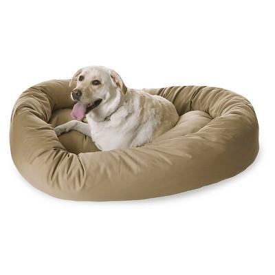 Majestic Pet Bagel Bed - Khaki (XLarge)