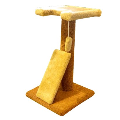 "Majestic Pet Products Kitty Cat Scratch Perch - Neutral (30"")"