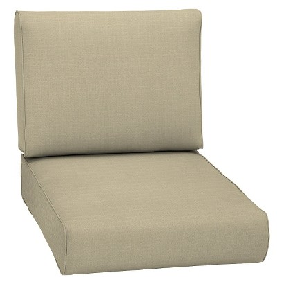 Smith & Hawken® Premium Quality Avignon® Club Chair Cushion - Cream