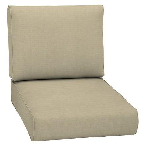 Smith & Hawken® Premium Quality Avignon® Club Chair Cushion - Cream