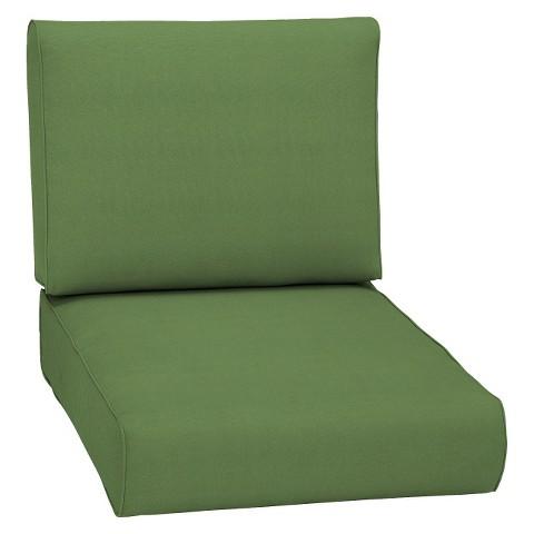 Smith & Hawken® Premium Quality Avignon® Club Chair Cushion - Green