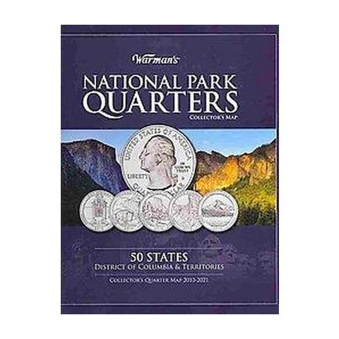 Warman's National Park Quarters Collector's Map 2010-2021 (Hardcover)