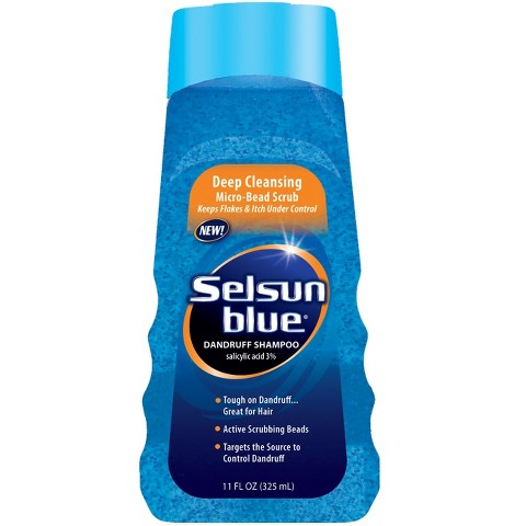 Selsun Blue 11-oz. Micro-Bead Scrub Dandruff Shampoo