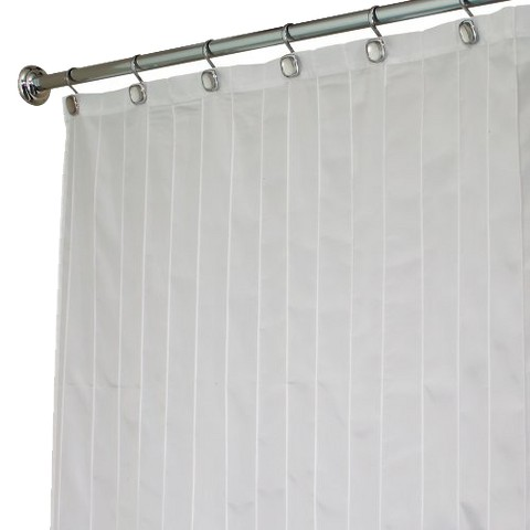 InterDesign Pintuck Shower Curtain - White