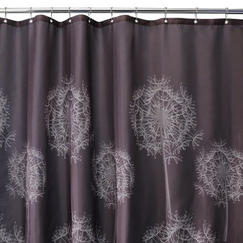 interdesign dandelion shower curtain product details page