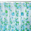 InterDesign Bubblz Shower Curtain - Blue/Green (72x72