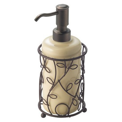 InterDesign Twigz Soap Pump - Vanilla/Bronze