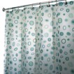 InterDesign Kiko Shower Curtain - Blue/Green (72x72