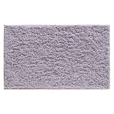 "InterDesign Fuzi Bath Rug - Lavender (34x21"")"