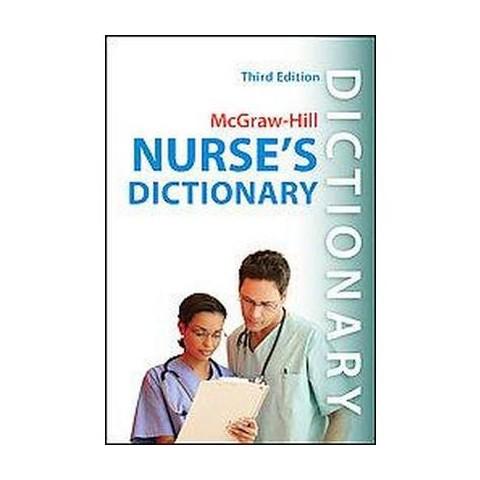Mcgraw-Hill's Nurse's Dictionary (Paperback)