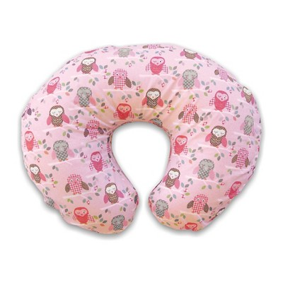 Boppy Bare Naked Pillow with Slipcover - Pink Owl