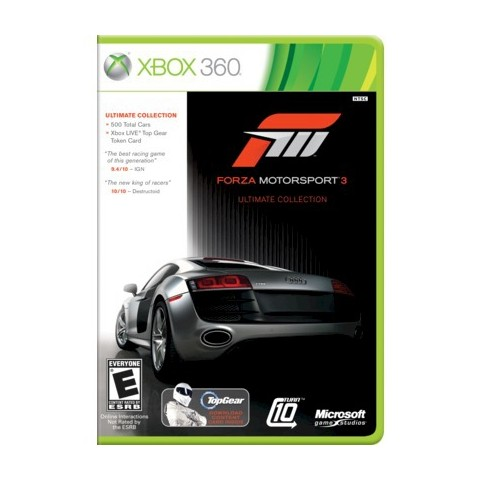 Forza Motorsport 3: Ultimate Collection (Xbox 360)